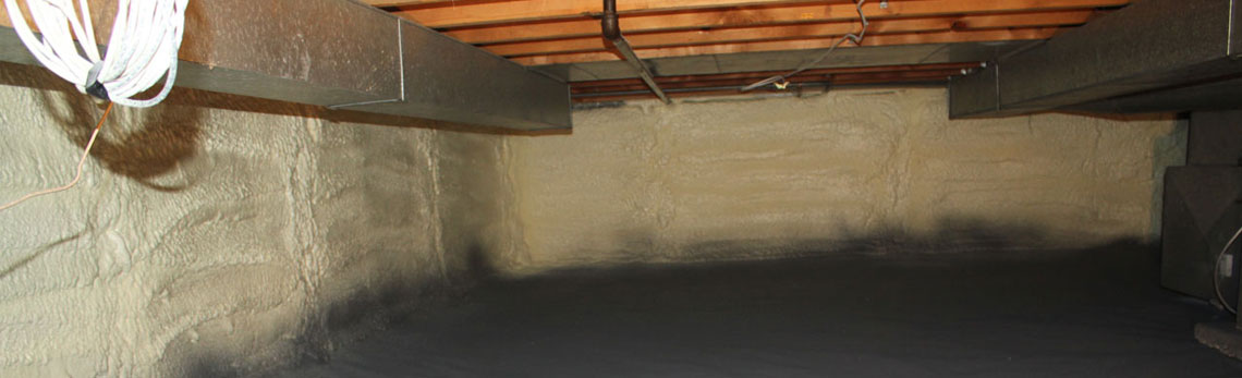 crawl space insulation in Arkansas